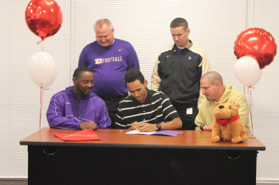Two sign with McPherson College