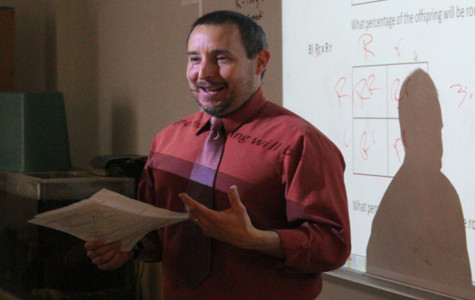 Heffley chosen as science department teacher of year nominee