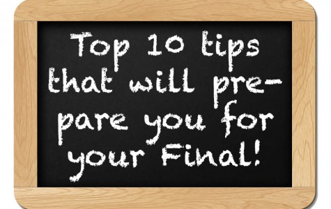 Top 10 tips to help prepare you for your final