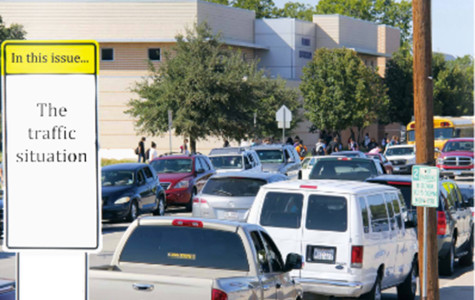 Students are faced with the challenging task: use the crosswalk or face a Jay Walking fine.