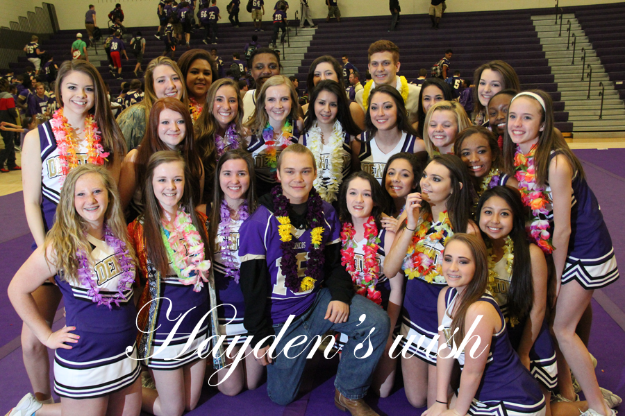 Hayden Smallwood went to what he thought was just a normal pep rally, but in the end he was surprised with a trip of a lifetime.
