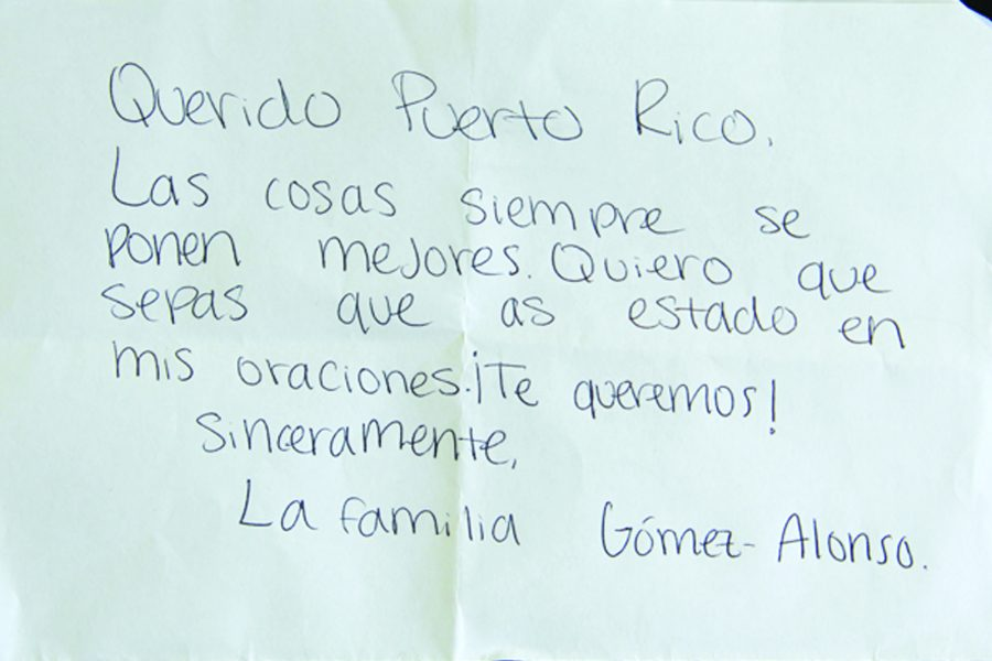 From the Gomez family to those in Puerto Rico