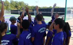 Varsity tennis finishes fourth in district