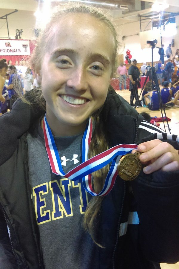 Hensley+medals+at+state%2C+first+female+in+school+history